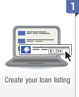 Create your loan listing