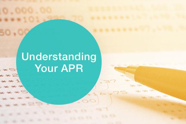Understanding Your APR