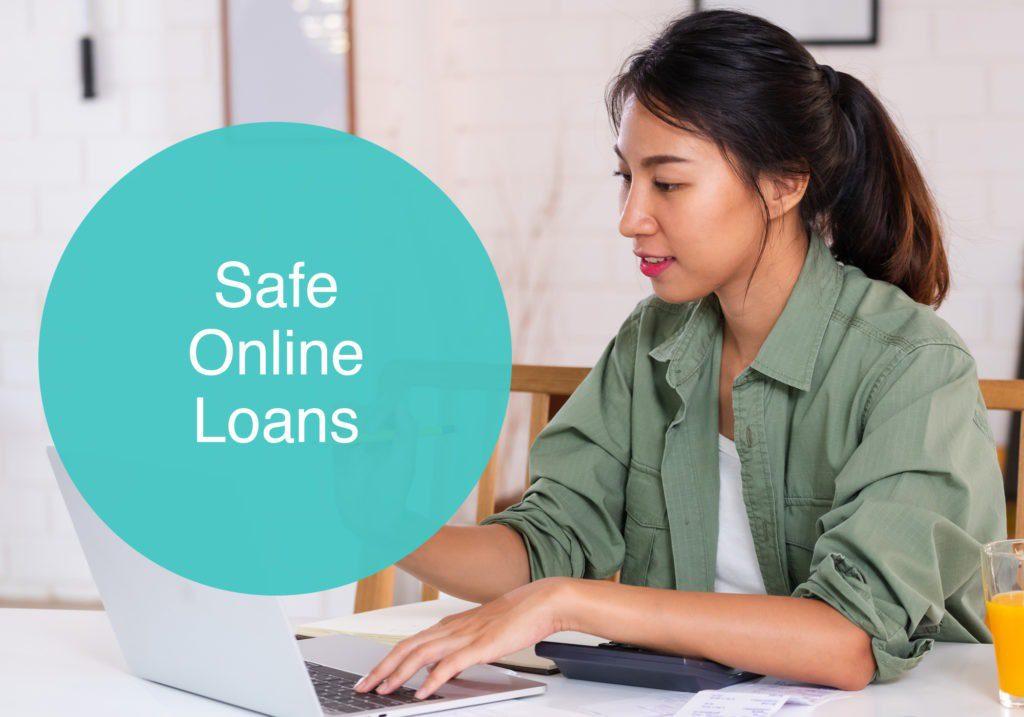 Safe online loans image