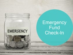 Emergency Fund Check-in