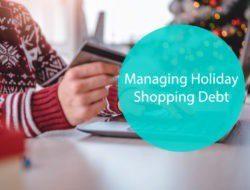 Managing Holiday Shopping Debt