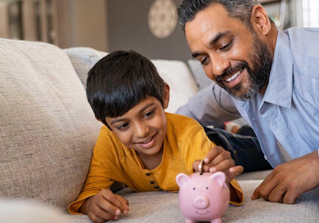 teaching children money skills